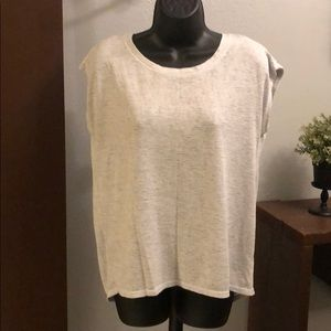 Athleta women's top with cross over back